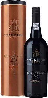 Andresen Royal Choice 20 Years Tawny